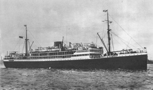 Largest Cargo Ship >> Accra (British Motor passenger ship) - Ships hit by German ...