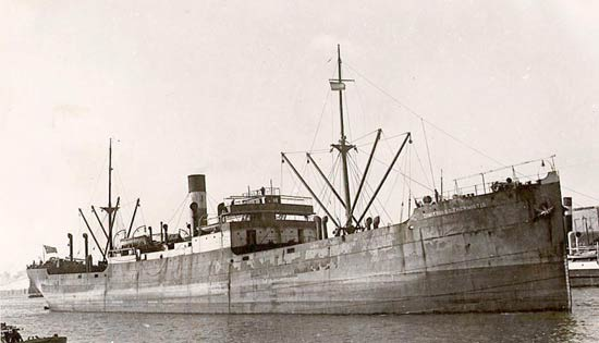 Largest Cargo Ship >> Dimitrios G. Thermiotis (Greek Steam merchant) - Ships hit by German U-boats during WWII - uboat.net