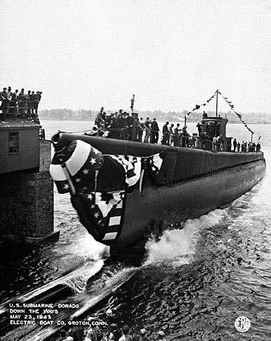 Uss Dorado Ss 248 American Submarine Ships Hit By