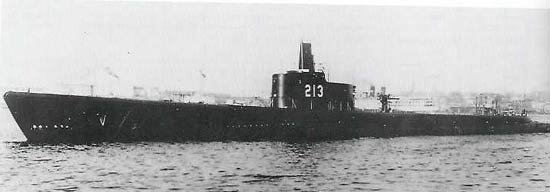 Greenling (SS-213) of the US Navy - American Submarine of ...