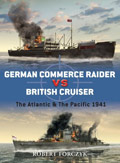 German Commerce Raider vs British Cruisers (Duel)