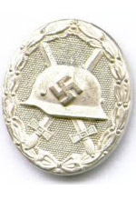 Wound Badge in Silver