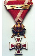 Knight's Cross with War Decoration Austrian Order of Leopold