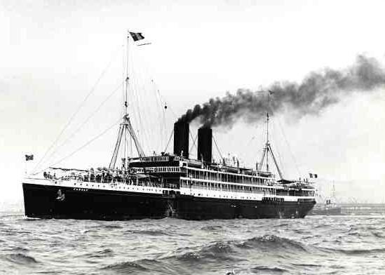 Passenger steamer Karnak - Ships hit by U-boats - German ...