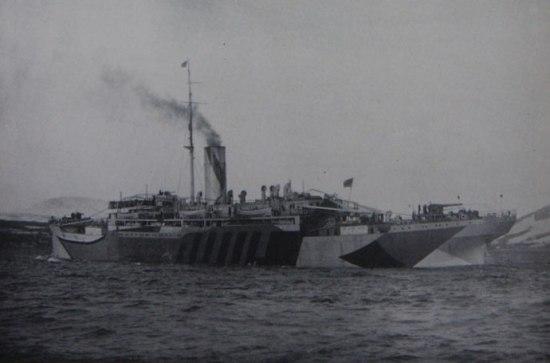 Armed merchant cruiser Bayano - Ships hit by U-boats ...